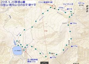 87白笹山・南月山・日の出平・ひょうたん池.jpg